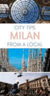 Things to do in Milan Pinterest pin