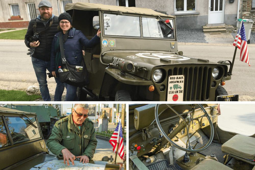 Bastogne Tour by WW2 Jeep