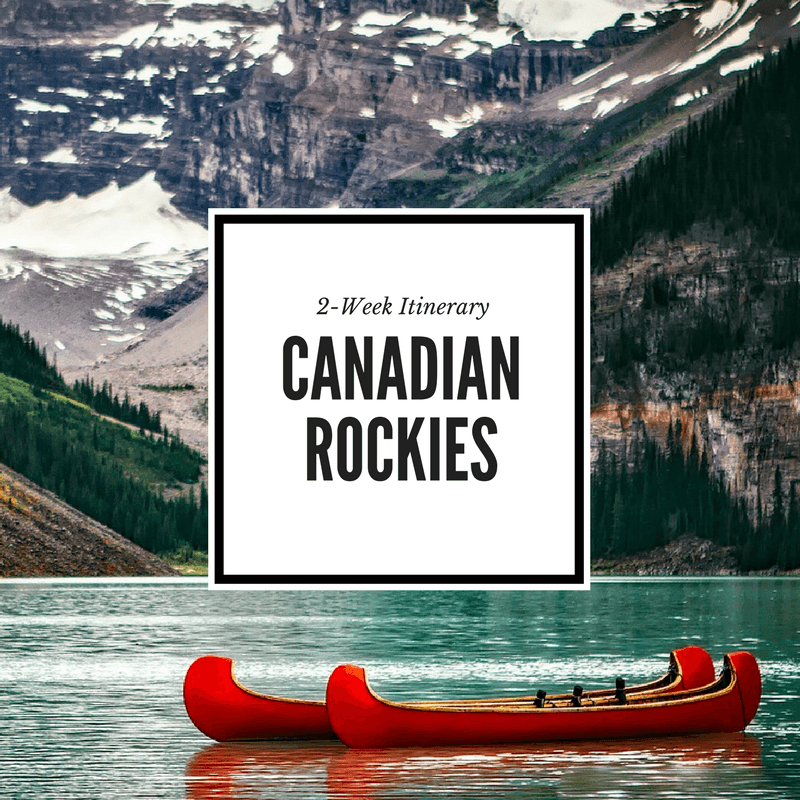Canadian Rockies Itinerary Feature Image