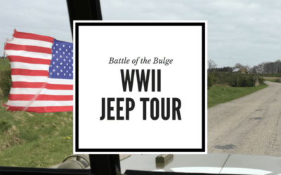 Battle of the Bulge Tour in Belgium: Bastogne Tours by American WWII Military Jeep