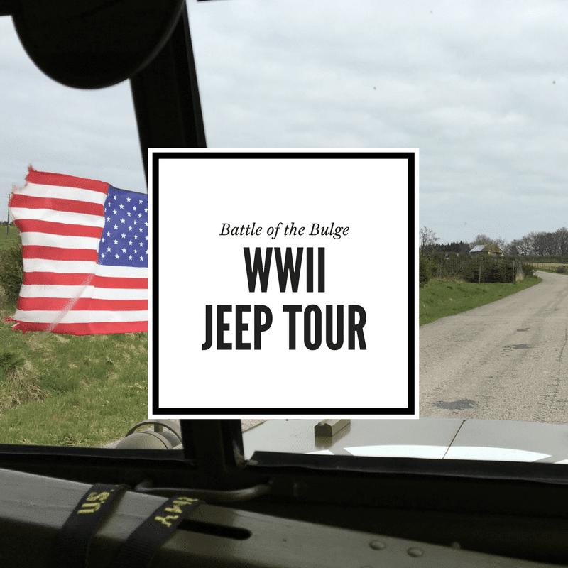 Bastogne Tour WWII