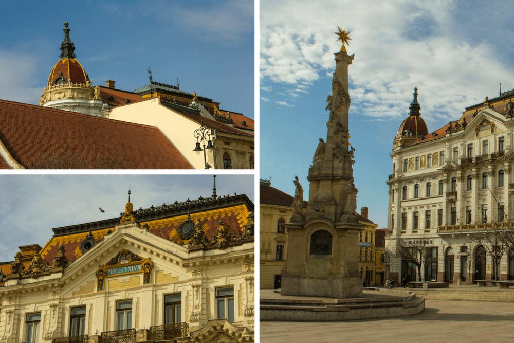 Pécs Hungary Pictures Architecture