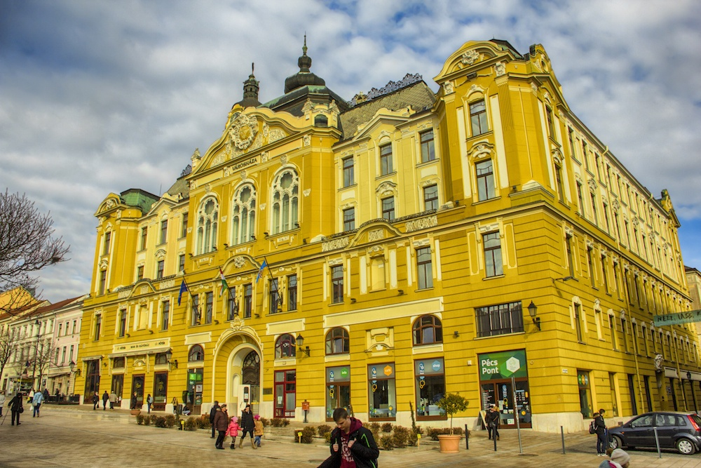 Pecs Hungary Pictures Architecture