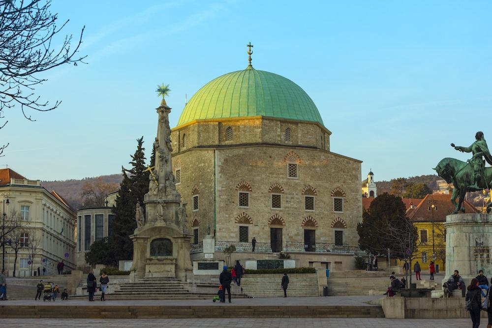 Pécs Hungary Mosque