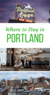 Where to Stay in Portland Pinterest