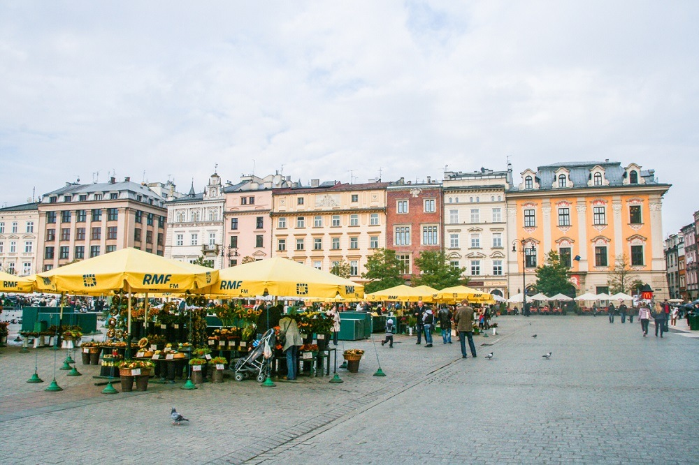 Photo of square in Krakow in a Where to stay in Krakow guide