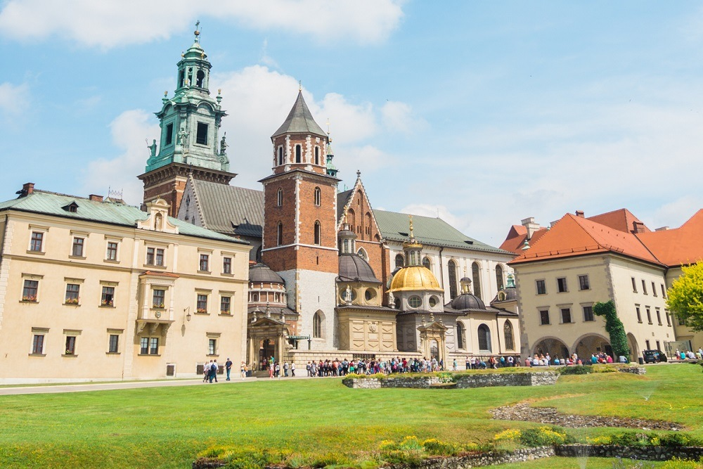Wavel Cathedral in Krakow in a Where to stay in Krakow guide