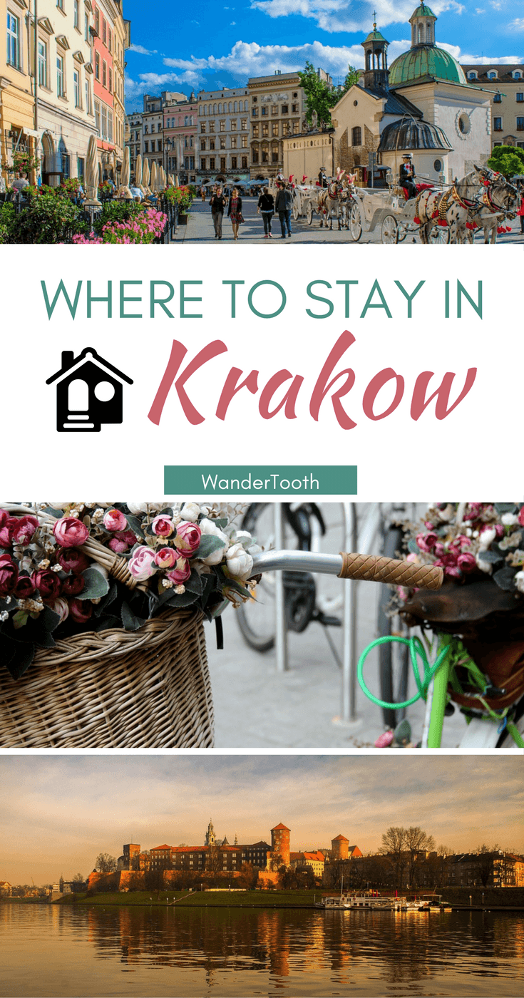 Where to stay in Krakow, Poland: all you need to choose the best hotels in Krakow. A best neighborhoods in Krakowguide - @WanderTooth