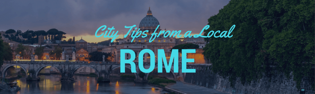 Locals tips Rome Header