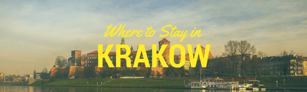 where to stay in Krakow heading