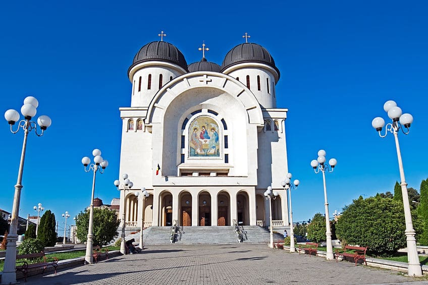 arad romania the holy trinity cathedral