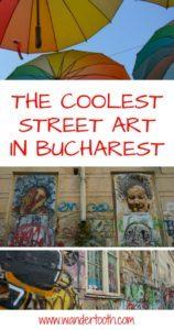 Bucharest Street Art Pinterest Pin