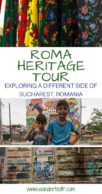 Bucharest Roma Heritage Tour Pinterest Pin