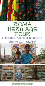 Bucharest Roma Heritage Tour Pinterest Pin