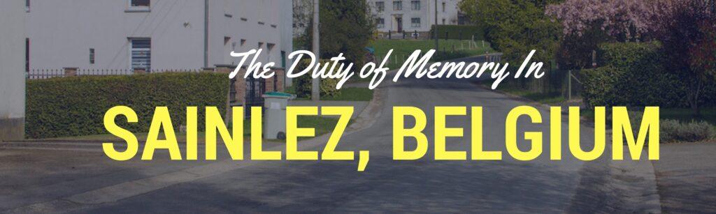 Sainlez Belgium Header