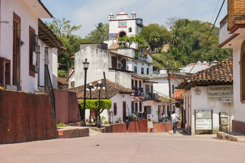 Tapijulapa Mexico Town