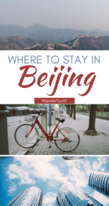 Where to stay in Beijing Pinterest Pin