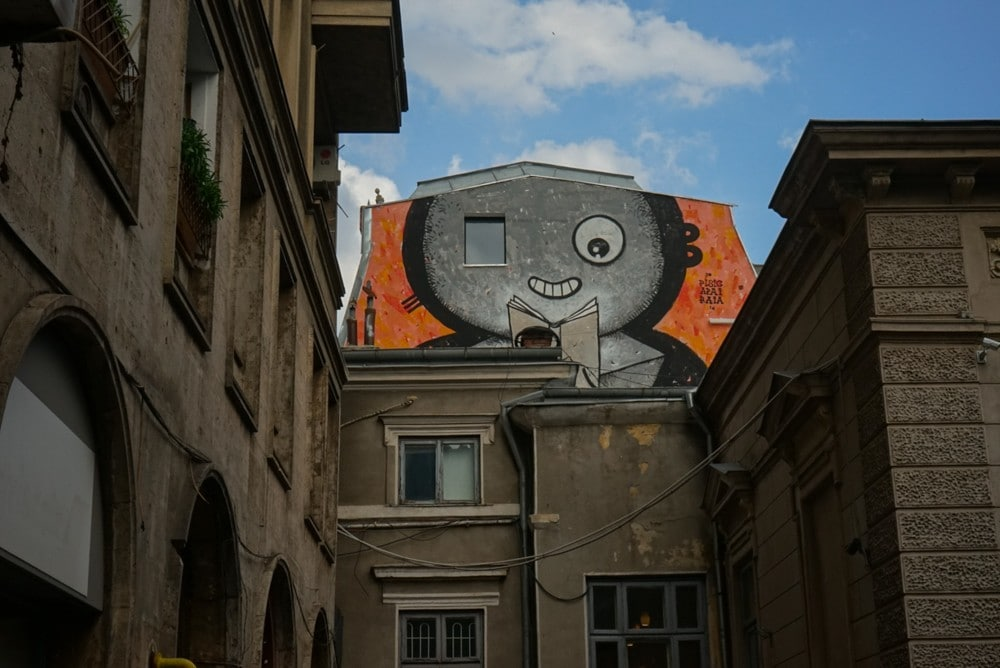 street art bucharest mural