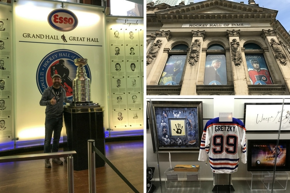 Visit the Hockey Hall of Fame