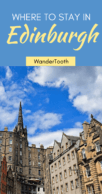 Where to stay in Ediburgh: all you need to know about Edinburgh best neighborhoods | Edinburgh best areas | Edinburgh Scotland UK - via @WanderTooth