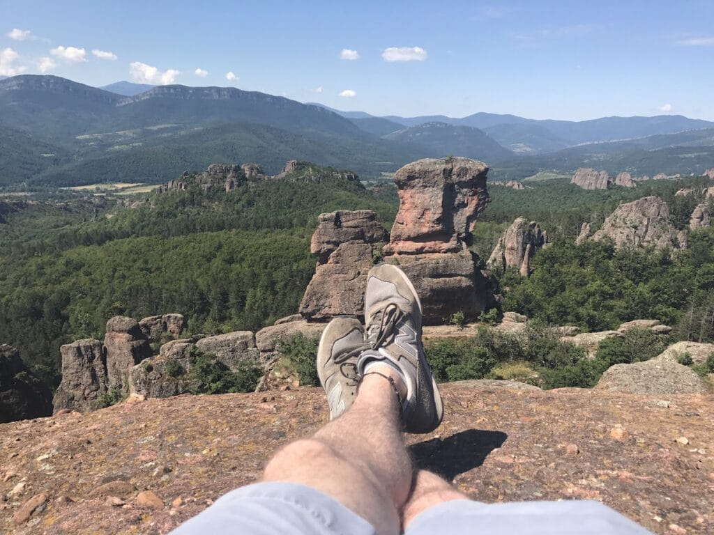 Feet at Belogradchik Rock Fortress