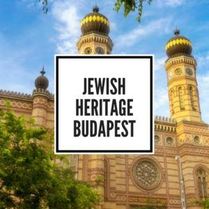 Blog Feature Image Budapest Jewish Quarter