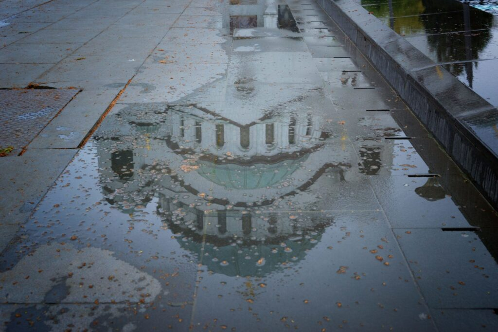 St Sava Belgrade Reflection