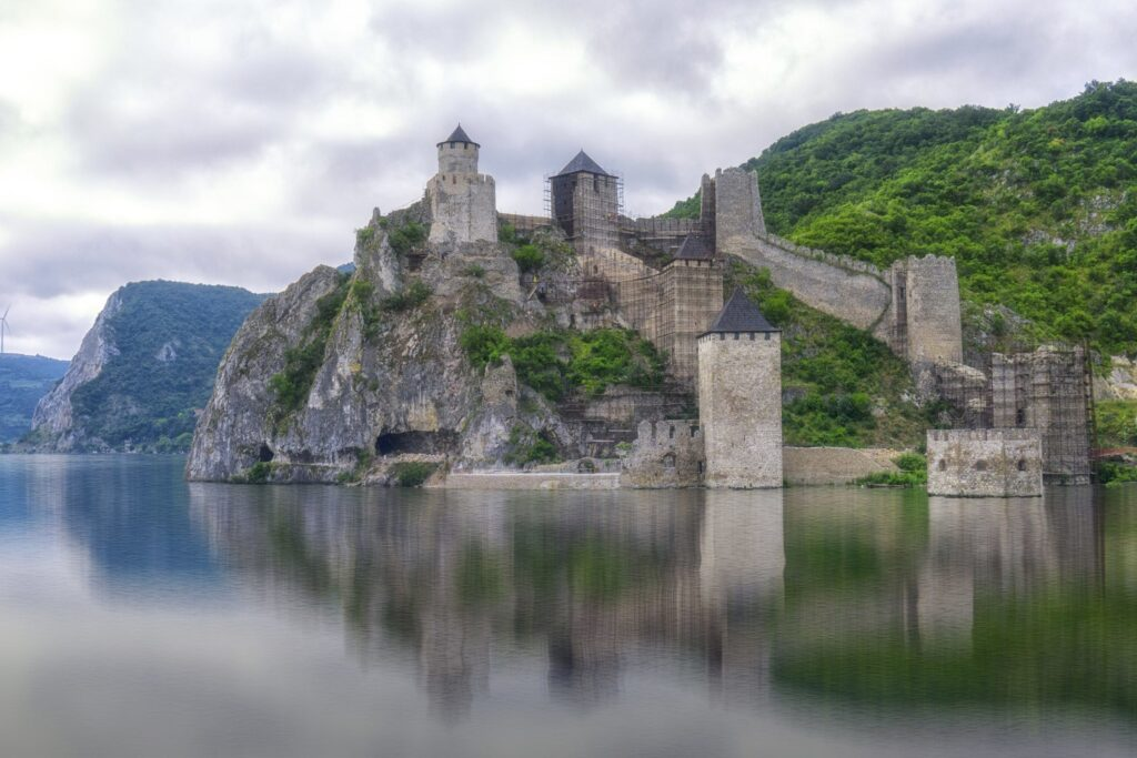 Golubac Fortress in the Kazan Stretch on an Eastern Europe River Cruise