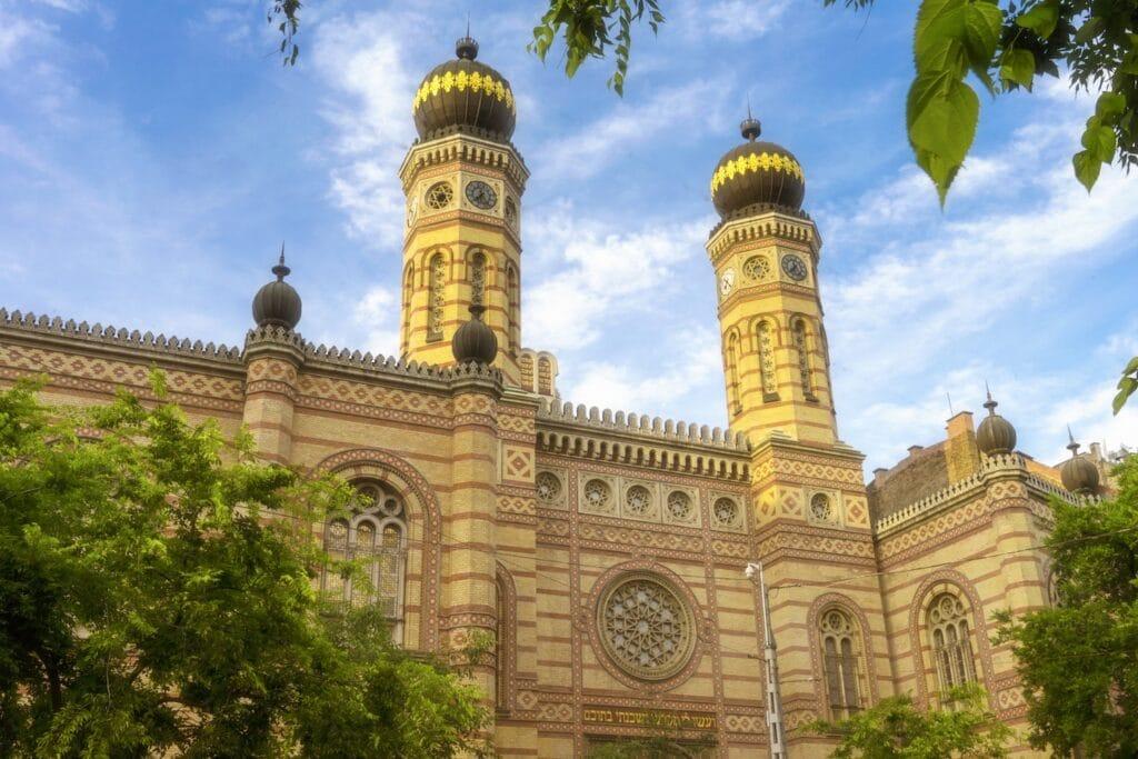 Great Synagogue Exterior Budapest