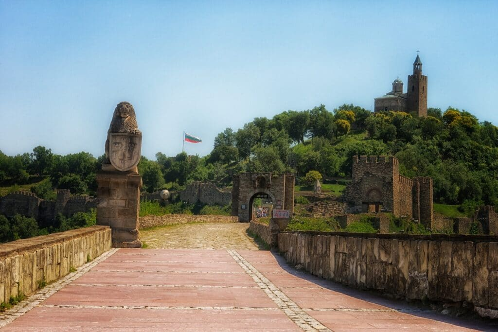 Visiting Veliko Tarnovo Fort on a Danube river cruise