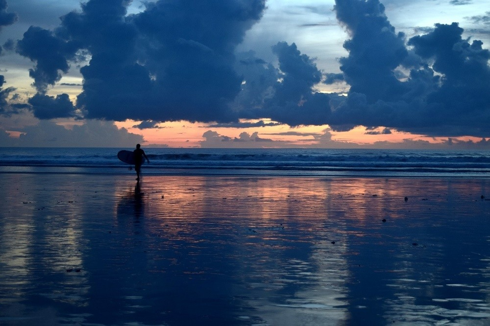 Where to Stay in Bali Canggu is good for surfers