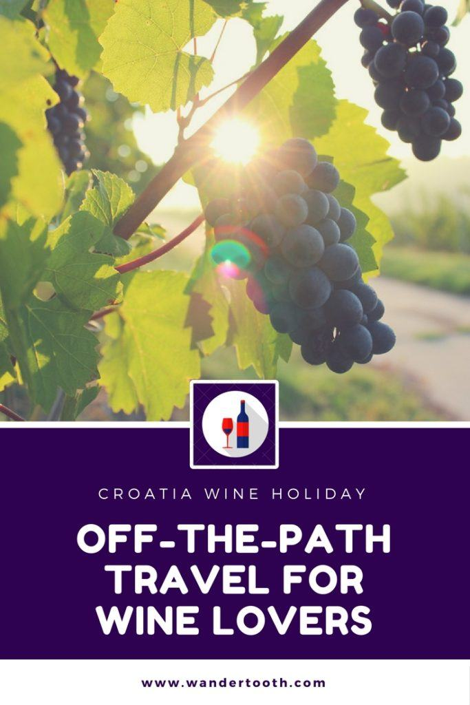 Croatia Wine Pinterest Graphic