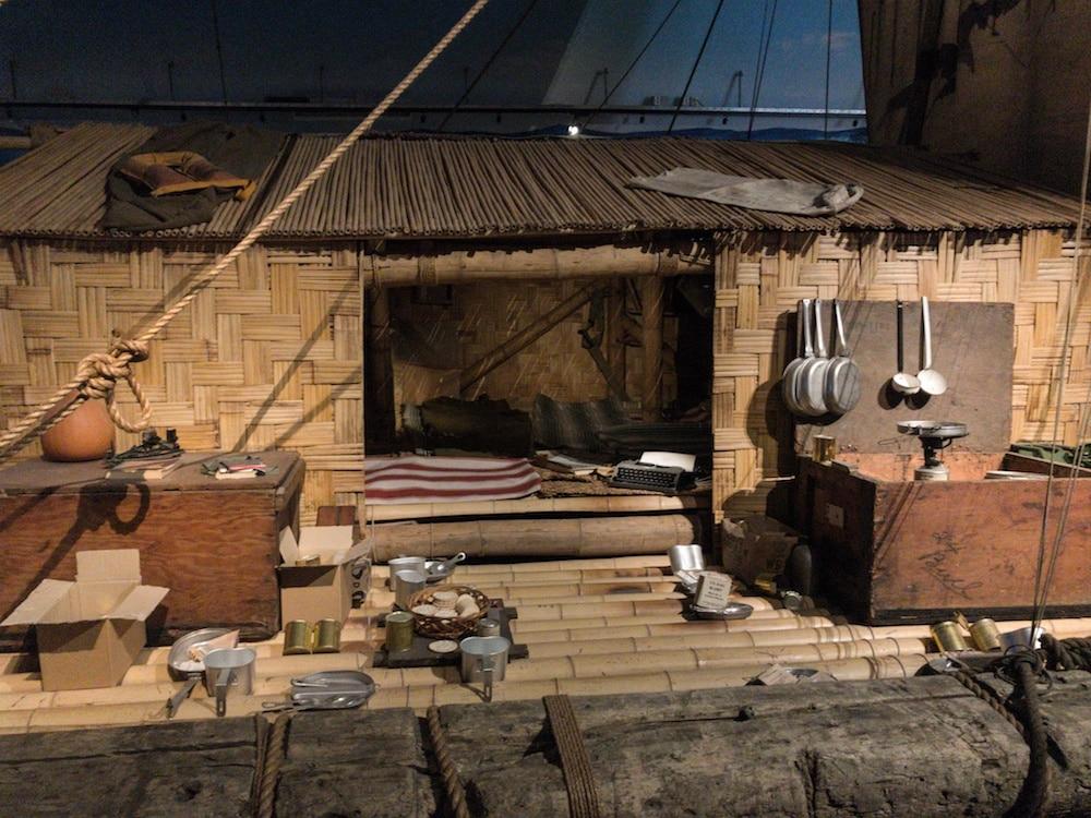 Kon Tiki Raft at the Kon-Tiki Museum Oslo
