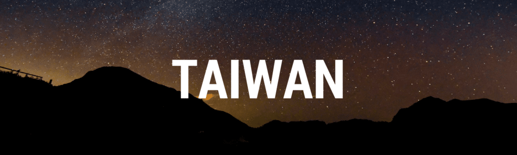 Taiwan travel articles