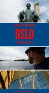 Things to Do in Oslo Pinterest Pin