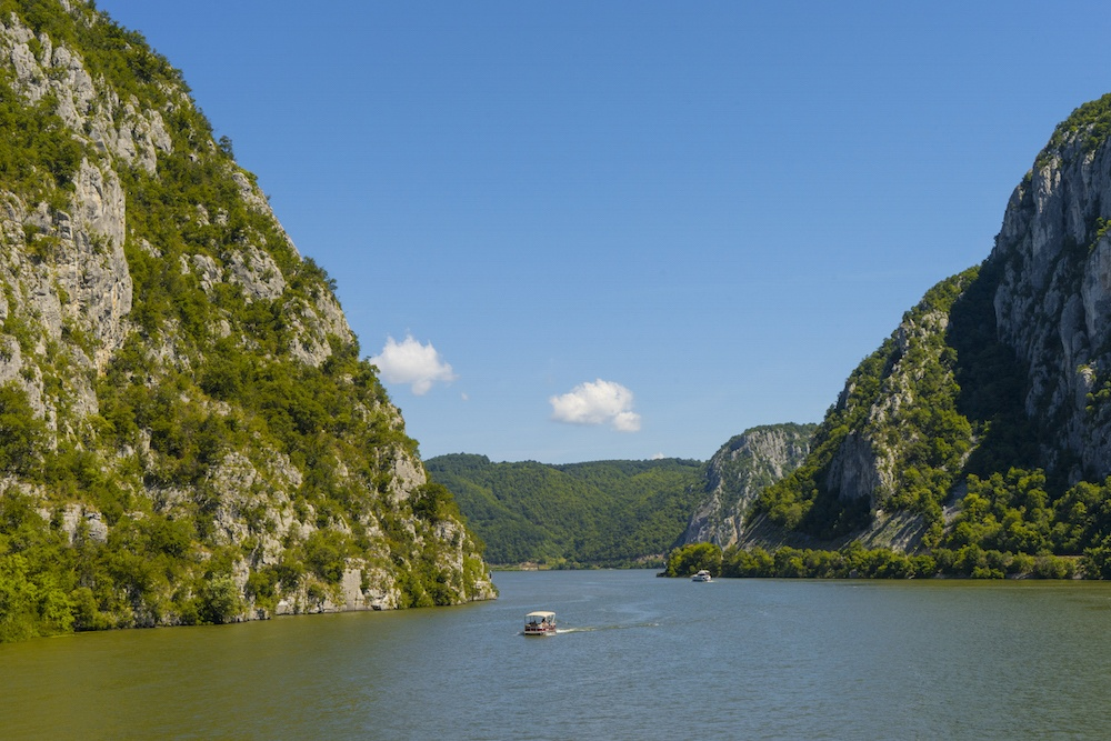 The Kazan Stretch on a Balkan River Cruise