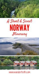 Norway Itinerary Pinterest Pin