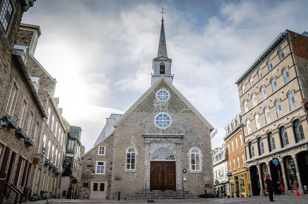 Notre Dame des Victories Quebec City