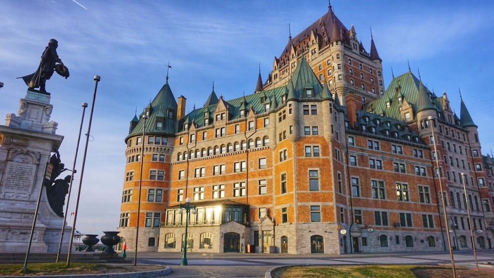 Chateaux Frontenac Quebec City
