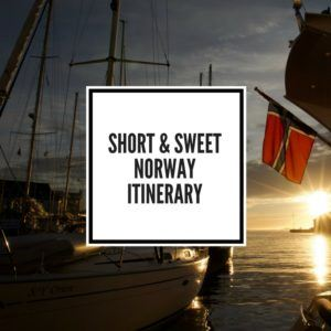 Norway Itinerary Feature Image