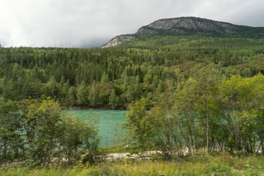 Rugged scenery Norway by train Dovre Line