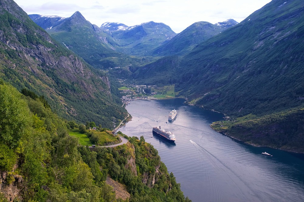 Geiranger Fjord View