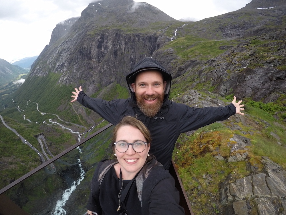 Wandertooth Selfie Trollstigen Norway