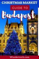 Hotels Near Budapest Christmas Market Pinterest Pin 2