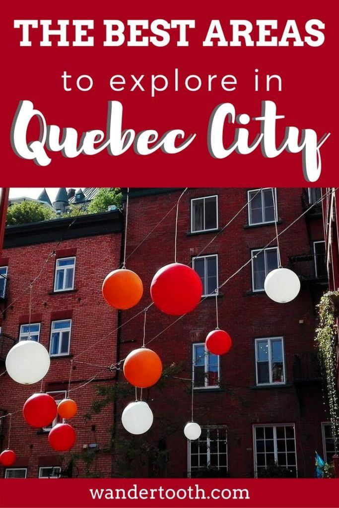 Best Places to Stay in Quebec City Pinterest Pin 2