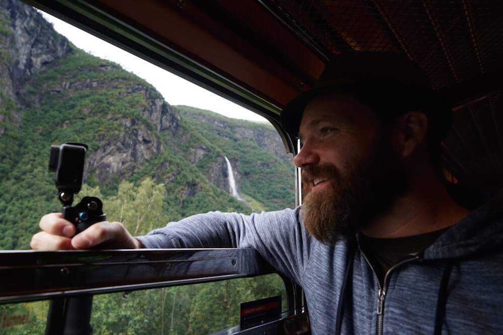 Geoff on Flam Line