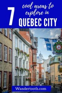 Where to Stay in Quebec Pinterest Pin 3