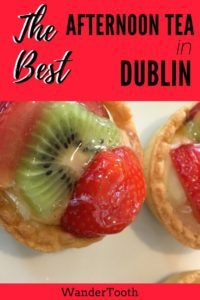 Best Afternoon Tea Dublin Pinterest Pin 1