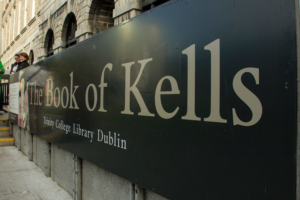 Book of Kells Dublin Ireland