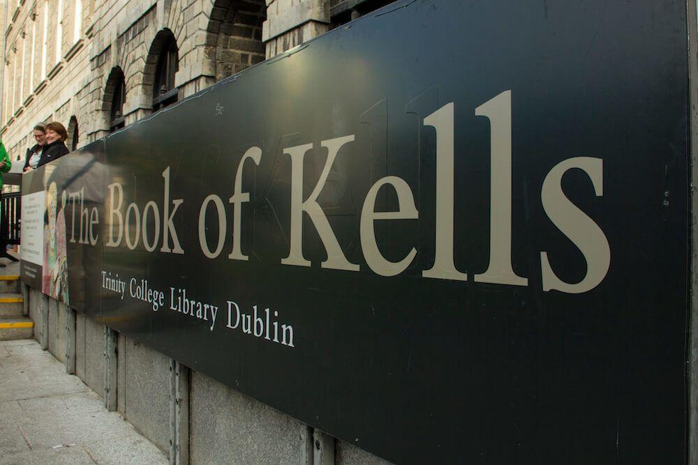 Book of Kells Dublin Ireland